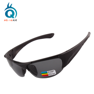 Gray Polarized Men Cycling Sunglasses