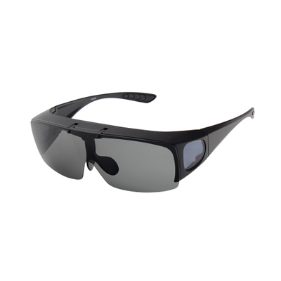 Flip Up Large Polarized Fitover Sunglasses