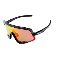 Tr90 Polarized Large Lens Cycling Sunglasses