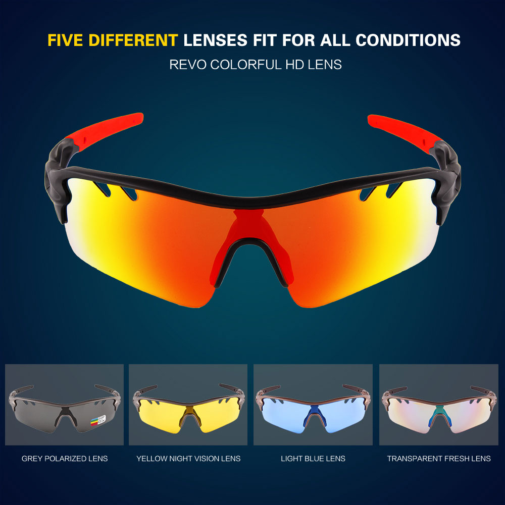 5 best interchangeable cycling sunglasses:For day and night